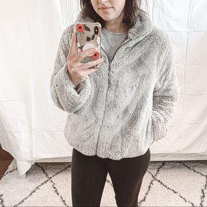 Dylan Faux Fur Shearling Love Jacket Sz M